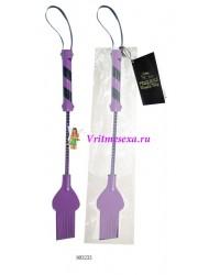 Стек черно-фиолетовый 34 см