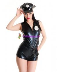 Костюм полицейского с головным убором S/L
