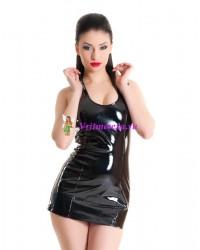 Платье черное/розовое S/M/L