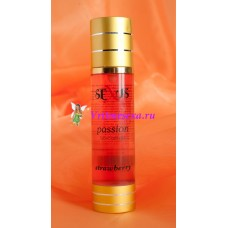 Увлажняющая гель-смазка на водной основе с ароматом клубники Passion Strawberry 100 мл