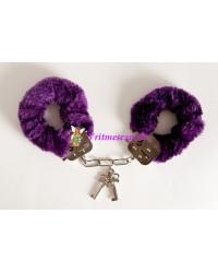 Наручники фиолетовые.6см